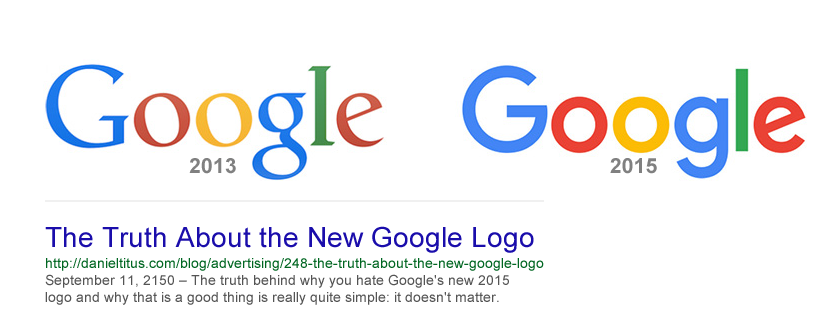 The Truth About the New Google Logo