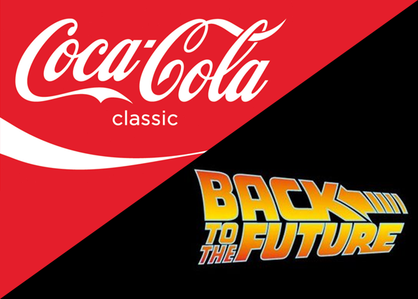 Coke And Back to the Future