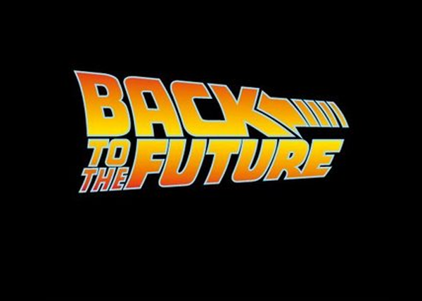 1985 Back to the Future Logo