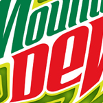 Cross Section of the Mountain Dew Logo