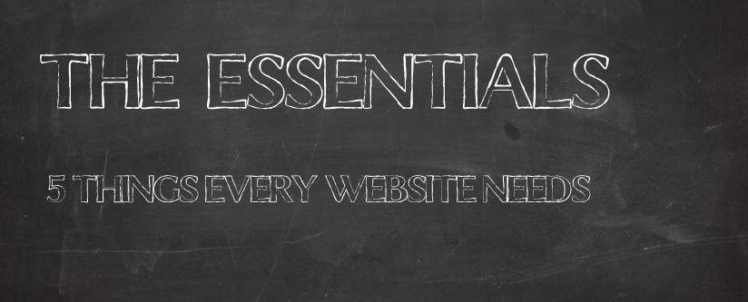 5 Things Every Website Needs