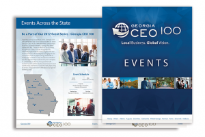 Georgia CEO 100 Events Brochure